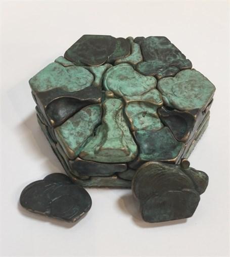 Bronze - Hexagon Puzzle
