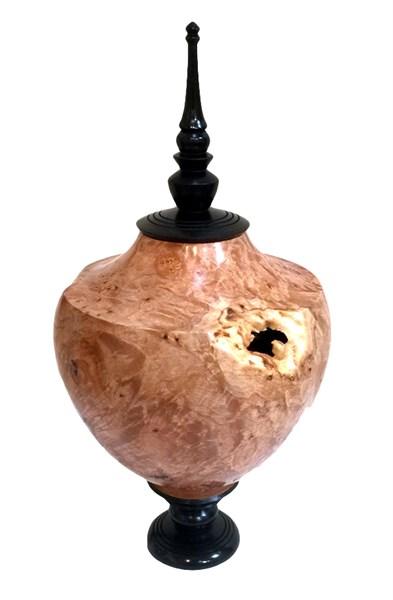 Wood - Maple Burl Vessel 2064