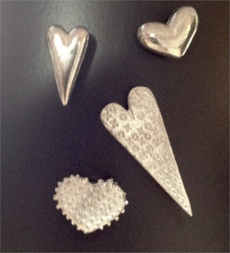 Mixed Heart Magnets 912
