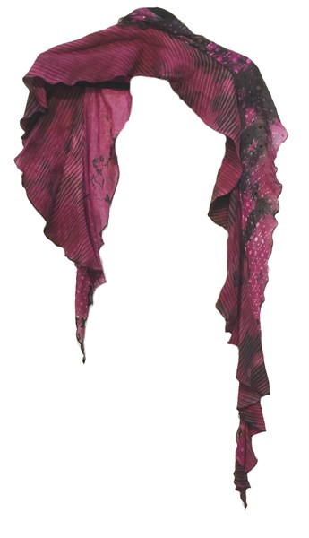 Encircle Me Scarves - Reverse Shibori