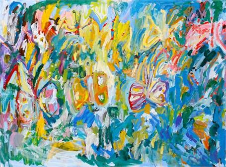 Butterflies, 2017, by Adrianne Rubenstein