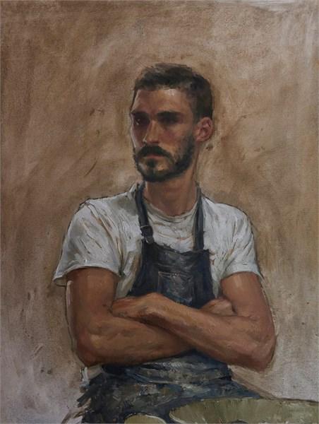 Live portrait Session Demo : Leon Doucette