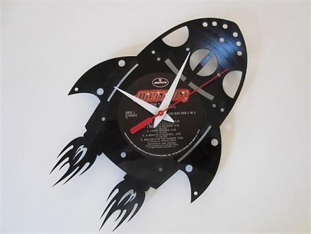 Wall Clock - Laser Cut Rocket