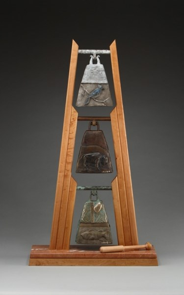 Earth, Water, Sky - Table Bell Set