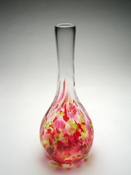 Glass - Yellow/Pink Christine Vase