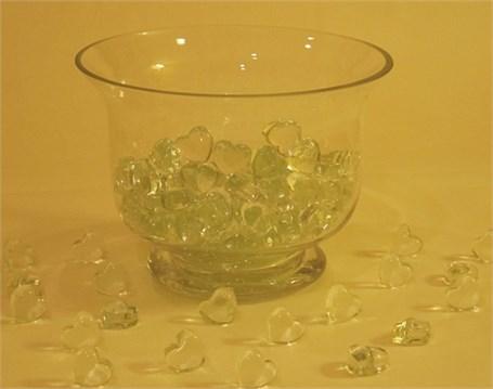 Glass Heart - Clear Miniature