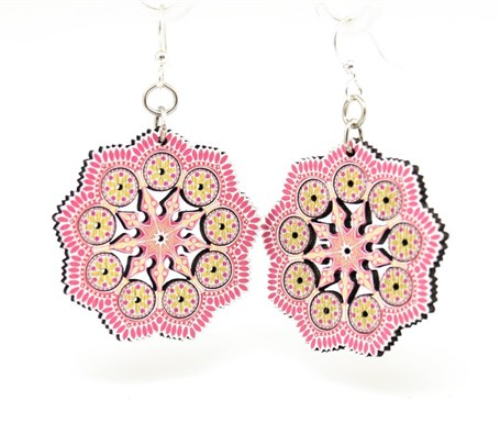 Earrings - Spring Mandala  1521