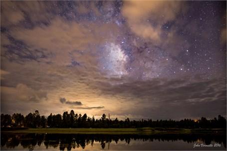 Milky Way Over - Woodland Lake Arizona - Drop Shipping Available