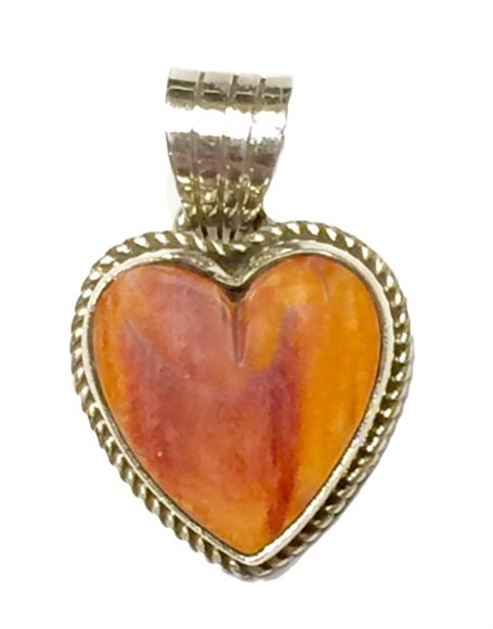 Pendant - Small Spiny Oyster Heart