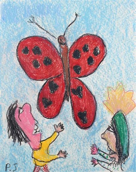 Ladybug Butterfly