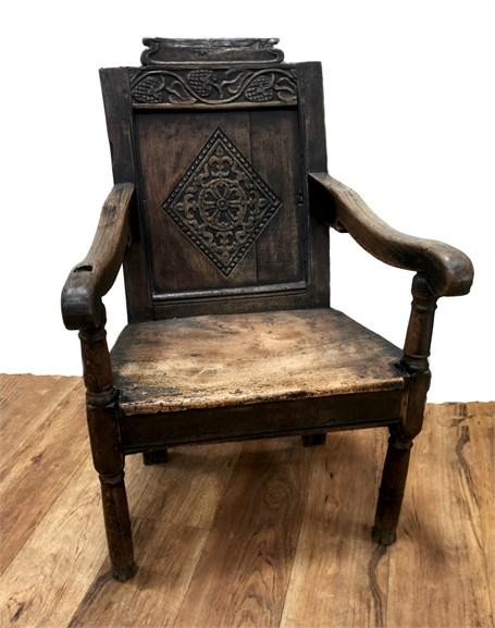 Antique Spanish Chair