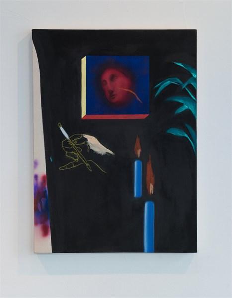 Untitled (Head in Window)