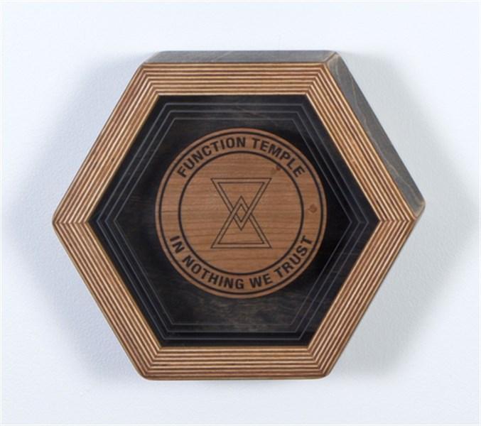 Hex Framed Temple Symbol 4