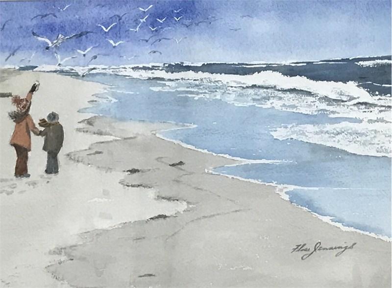 Beach bird viewers