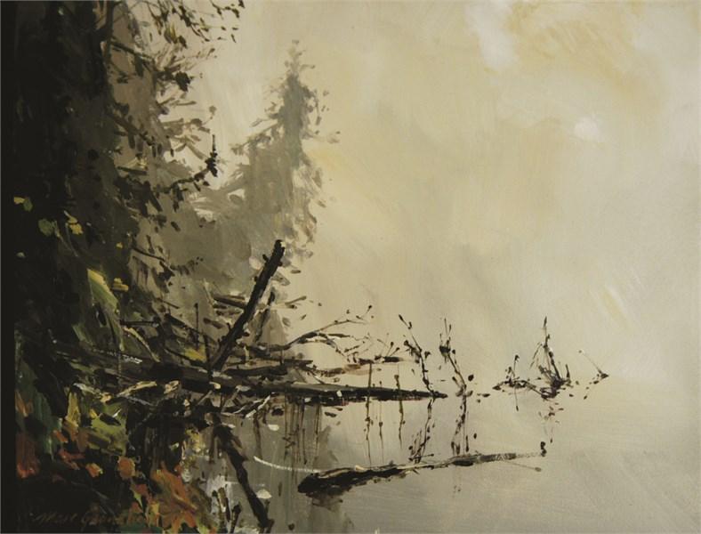 Fog on Canisbay Lake