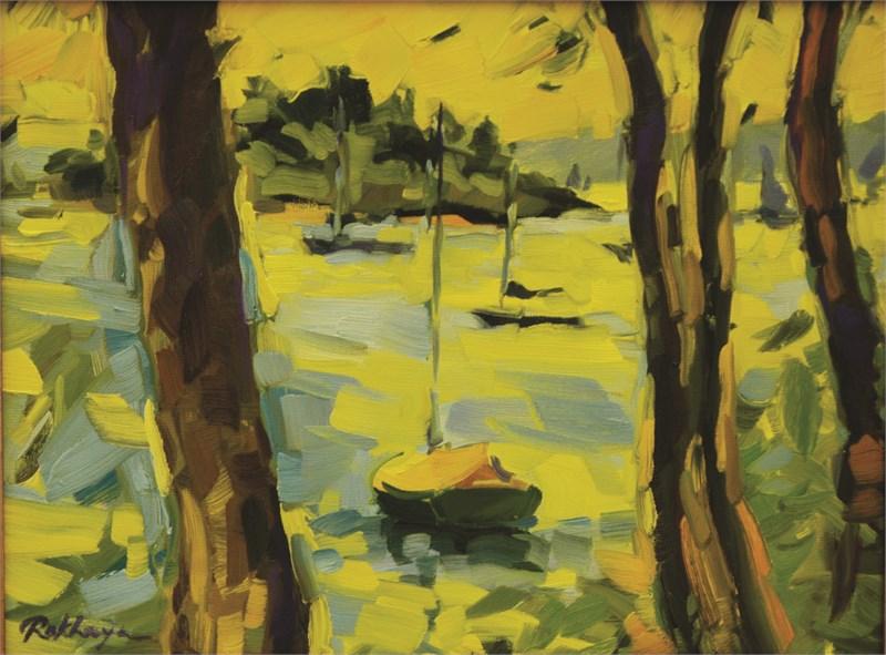 Oakes Cove Through the Trees