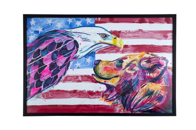 """""""Bear and Eagle"""" by Jordan Domont"""