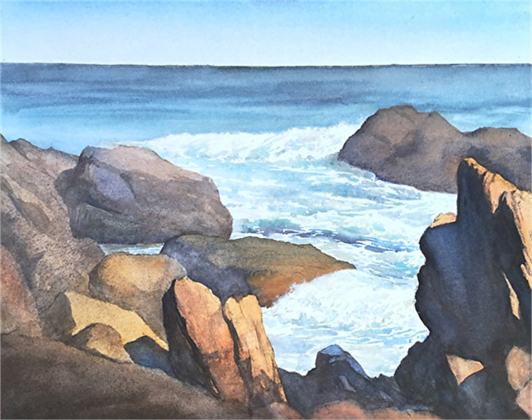 Bass Rocks Afternoon