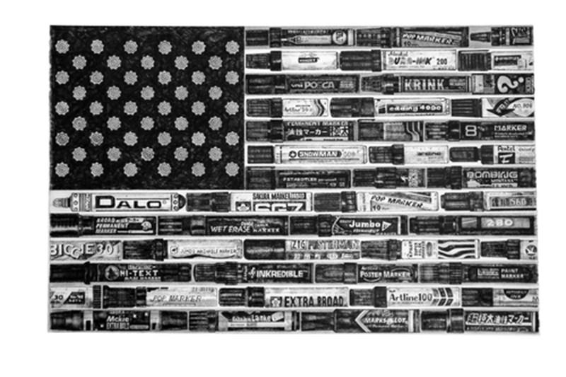 """""""B.I.Black Flag"""" by Allister Lee"""