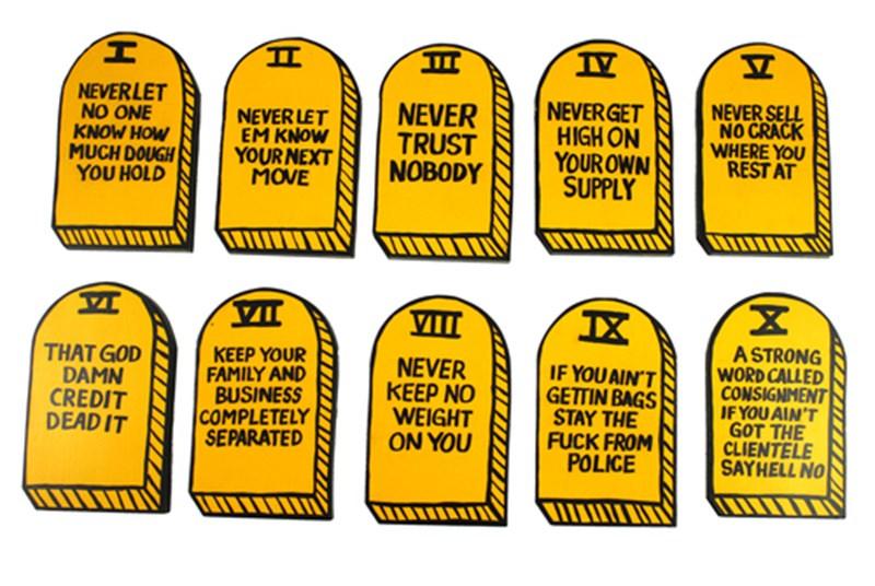 """""""Ten Crack Commandments"""" by Van Holmgren"""
