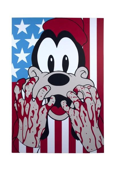 """""""Bleeding Hands Goofy"""" by Ben Frost"""