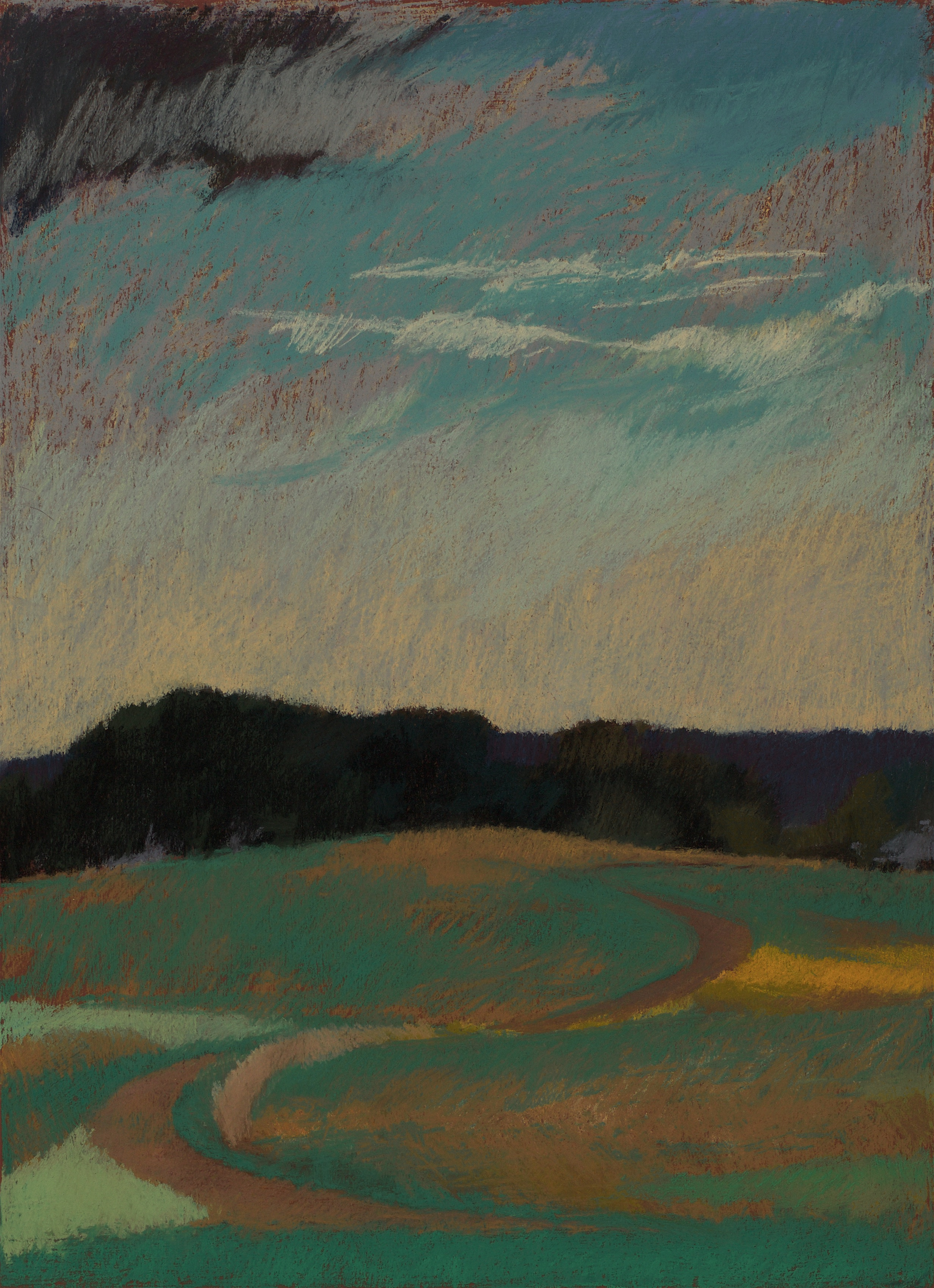 Rolling Acres Farm No. 2, Two Curves, Meander and Sit