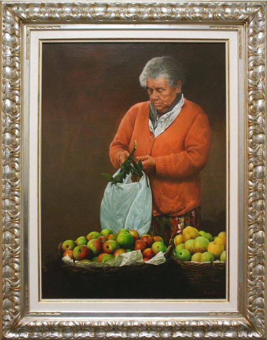 Woman In Orange-YY